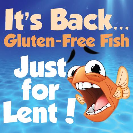 Arrrrr Matey!  Gluten Free Fish I See.