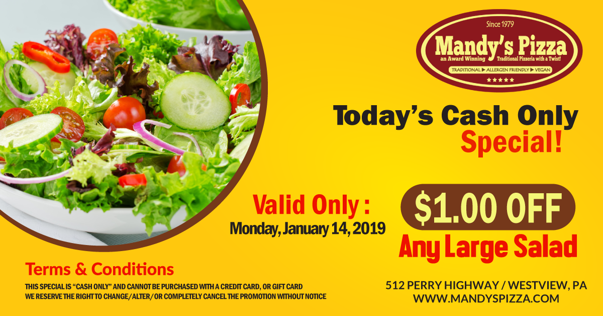 TODAY ONLY SPECIAL