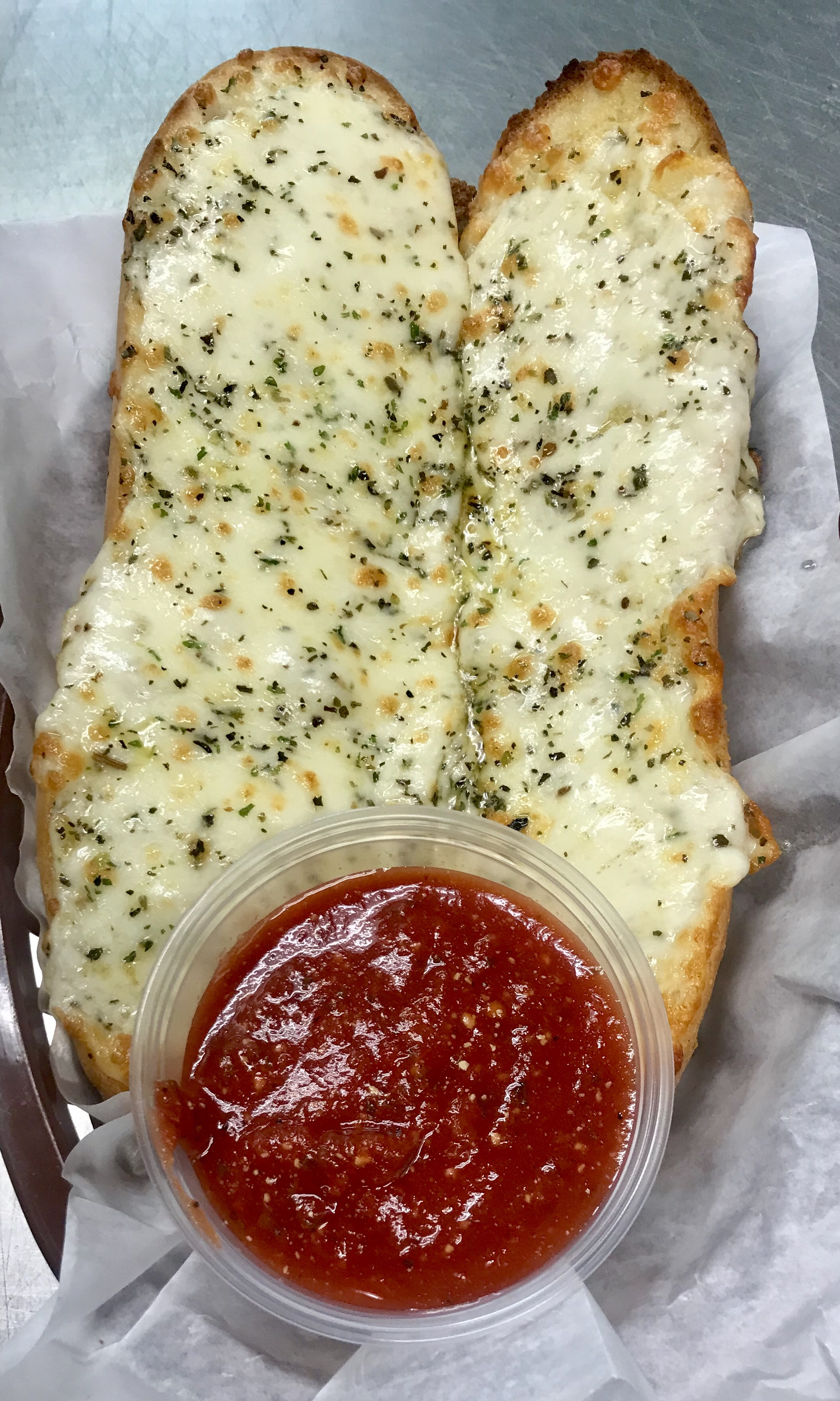 Cheezy Gluten Free Garlic Bread