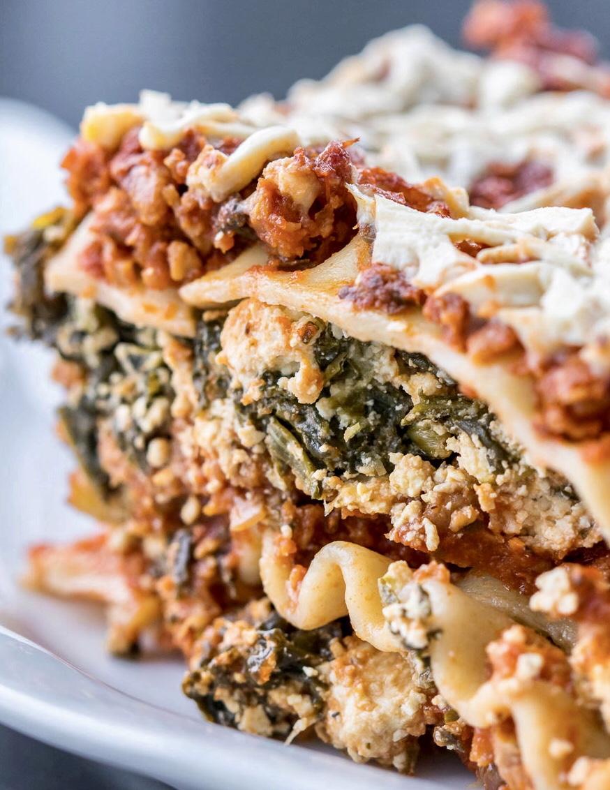 Vegan Sausage Lasagna